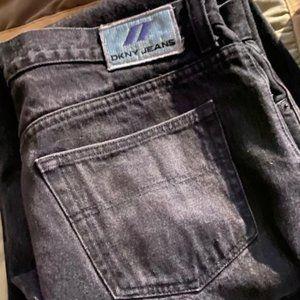 Mens DKNY jeans  size 36x30 color black